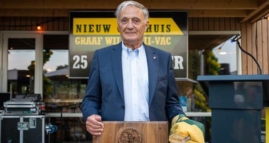 Louk Borsboom benoemd tot erevoorzitter Graaf Willem II-VAC